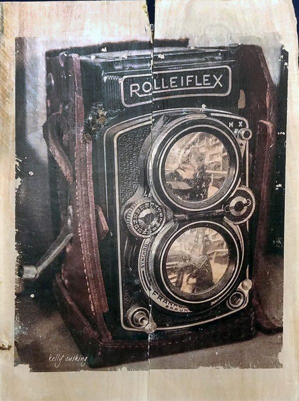 Rolleiflex Camera Wall Decor by Kelly Cusing