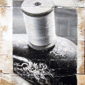 Thread on a Singer Sewing Machine Wall Decor