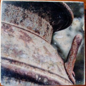 Vintage Brown Milk Jug Up Coaster