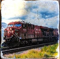 Kamloops CP Train Coaster