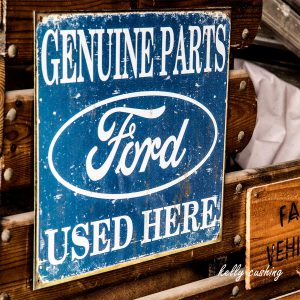Ford Genuine Parts Sign, Chilliwack, BC