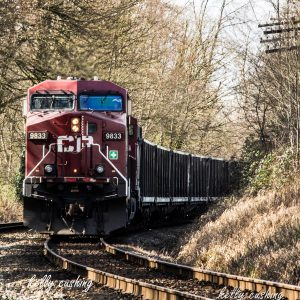 Burnaby CP Train