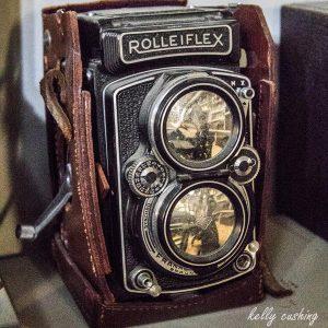 Vintage Rolleiflex Camera, Chilliwack, BC