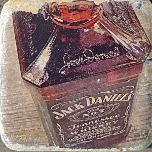 Jack Daniels No 7 Coaster