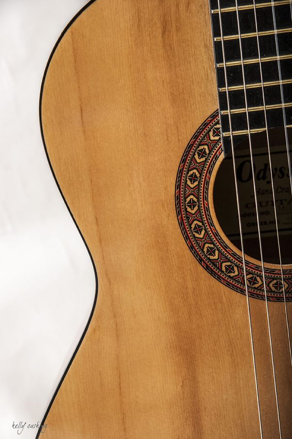 Middle of Guitar by Kelly Cushing