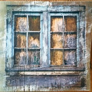 Barn Window Wall Decor