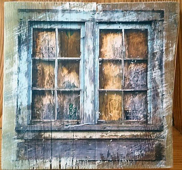 Barn Window Wall Decor