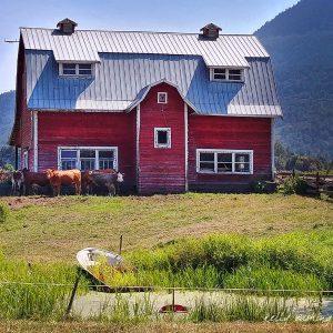Barn in Yarrow, BC