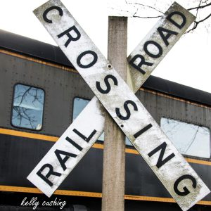 Fort Langley Train Crossing