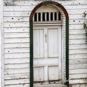 White Church Door near Cache Creek, BC
