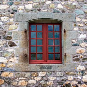 Louisbourg Fortress Window, Cape Breton, Nova Scotia