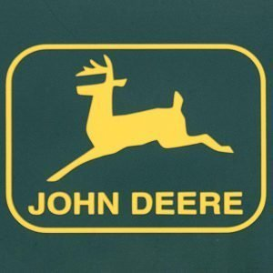 John Deere Logo from sign in Chilliwack, BC