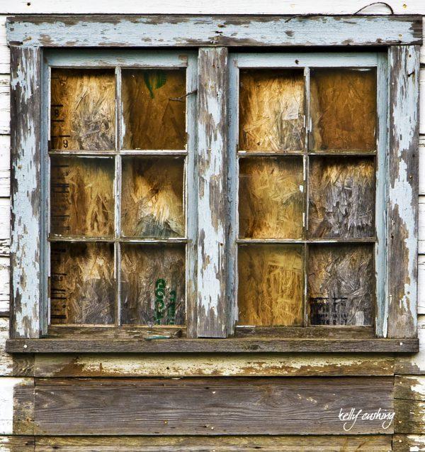 Barn Window on an old Barn, Chilliwack, BC