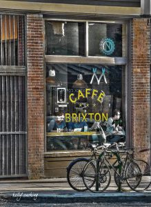 Caffe Brixton Cafe Downtown Eastside of Vancouver, BC