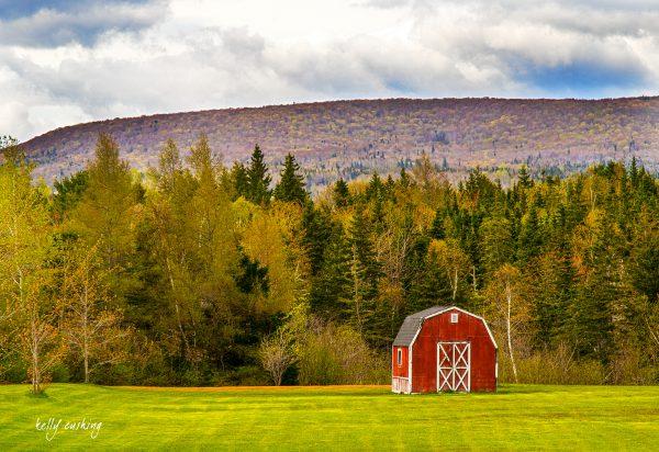 Barn in the Field, Cape Breton, Nova Scotia