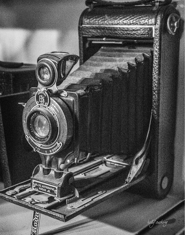 Vintage Kodak Autographic Camera, Chilliwack, BC