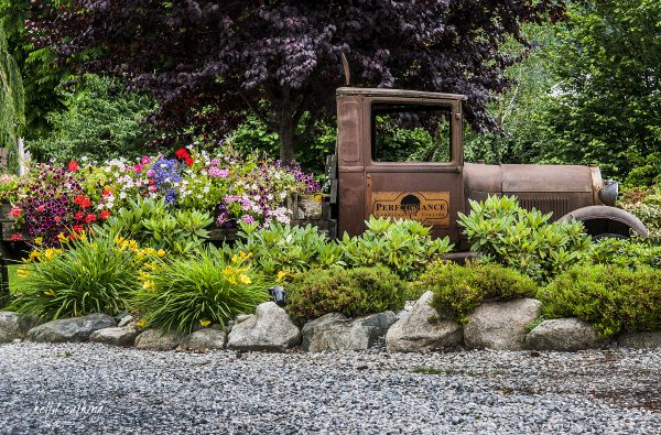 Performance Truck with Flowers, Abbotsford, BC