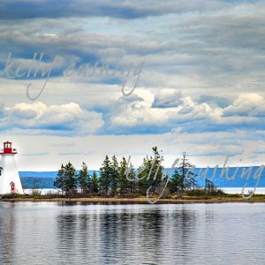 Lighthouse on Kidston Island, NS