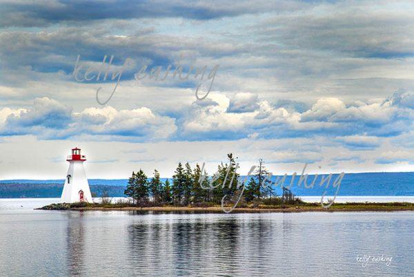 Lighthouse on Kidston Island, NS