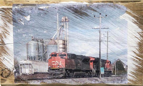Langley CN Train