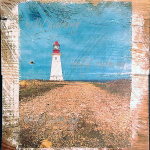 Path to Lighthouse Wall Decor by Kelly Cushing