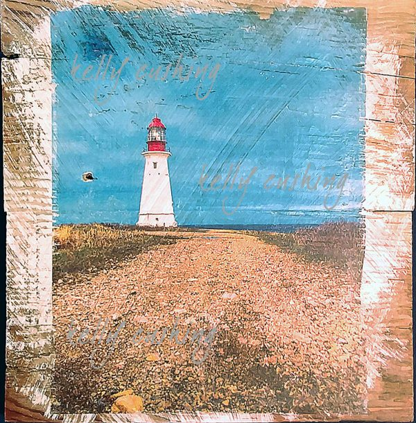 Wall Decor of the Path to a Lighthouse at Glace Bay