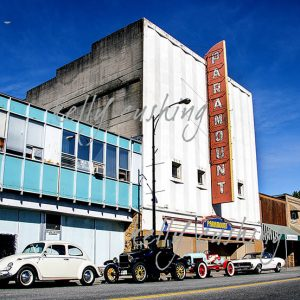 Vintage Cars by Paramount Theatre