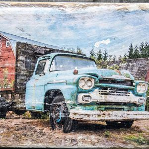 Barn & Chevy Truck Wall Decor