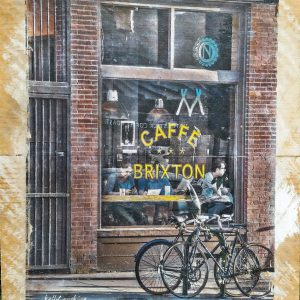 Caffe Brixton Wall Decor by Kelly Cushing