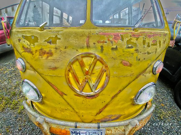 Volkswagen Bus by Kelly Cushing