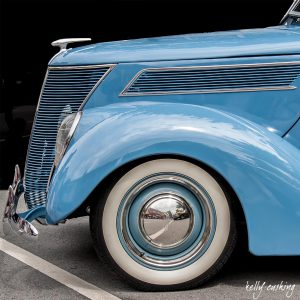 Vintage Blue Chevy