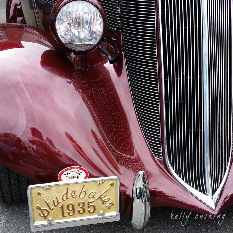 Red Studebaker by Kelly Cushing Photography