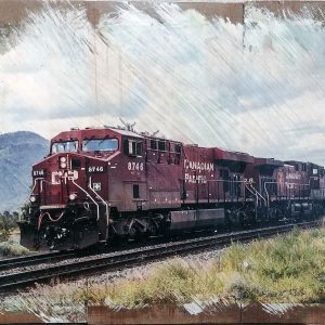 Kamloops Train Wall Decor by Kelly Cushing