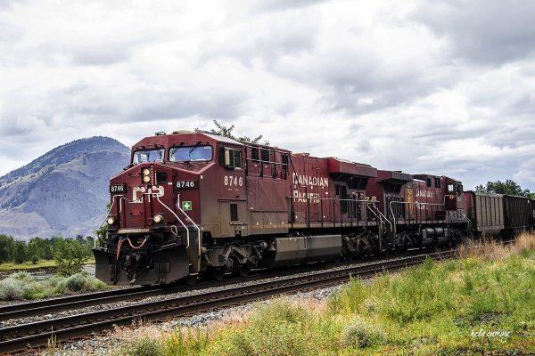 Kamloops Train by Kelly Cushing
