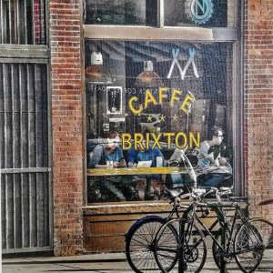 Canvas print of Caffe Brixton