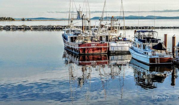 Boats At Steveston Pier