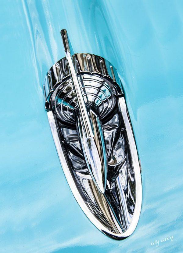 Blur Car Fin by Kelly Cushing